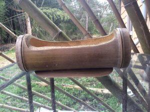 Timber bamboo planter